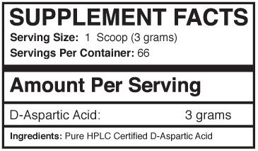 APtech Daa Supp Facts