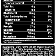 Allmax Nutrition Supplement Facts