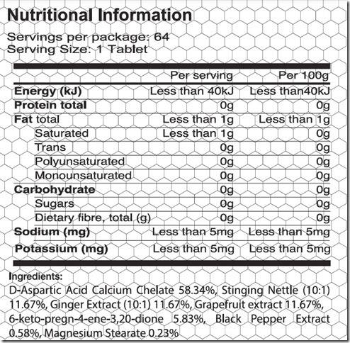 Body War Nutrition Mass War