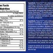 Biox Power Whey Complex Supplement Facts
