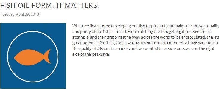 Citadel Nutrition Fish Oil Softgels Banner