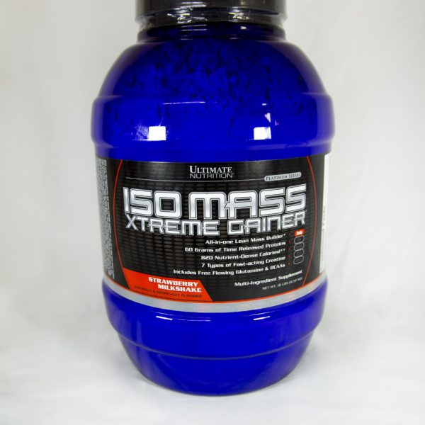 Ultimate Nutrition Iso Mass Xtreme Gainer - A1supplements