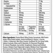 Nutrabolics Isoburner Supplement Facts