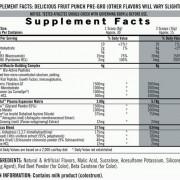 iSatori Pre-Gro Supplement Facts