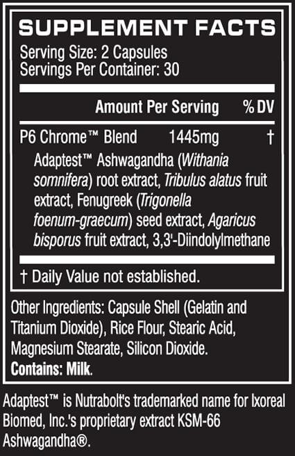 Cellucor P6 Chrome