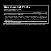 Blackstone Labs Dust V2 Supplement Facts