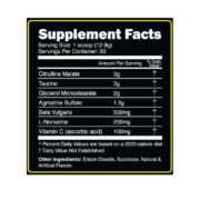 Primeval Labs Engorge Supplement Facts