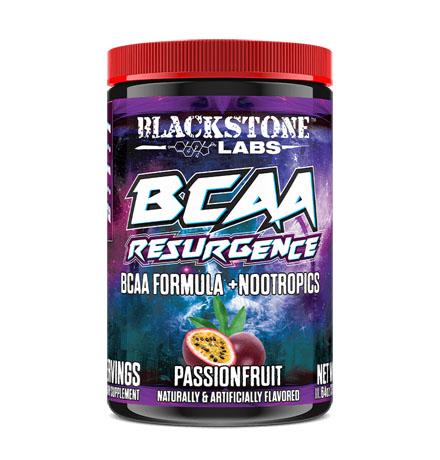 Blackstone Labs BCAA Resurgence 30 Servings - Passion Fruit
