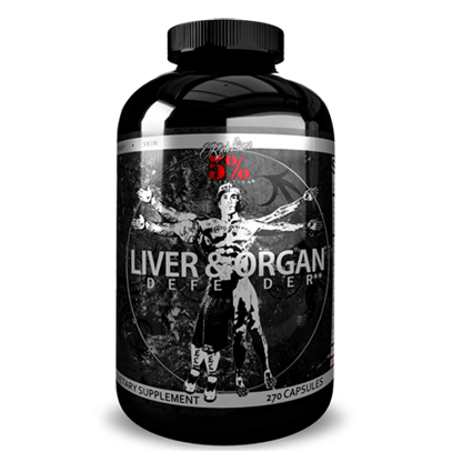 Rich Piana 5% Nutrition Liver and Organ Defender